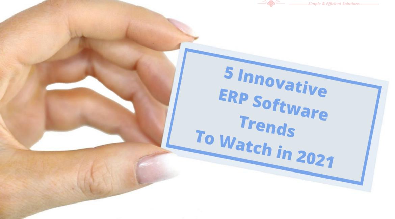 ERP Software Trends